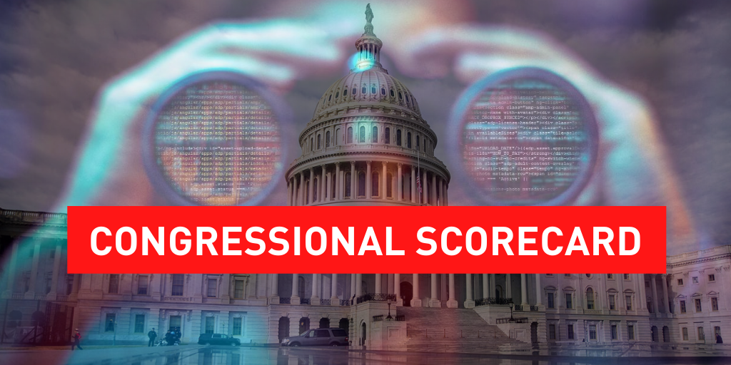 privacy congressional scorecard